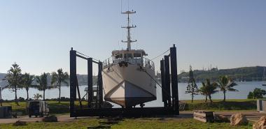 Carénage du navire Amborella, ©DAM-NC SPE