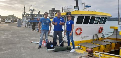 Formation à nouville au quai des pêcheurs en NC (c) Annie Portal CPS