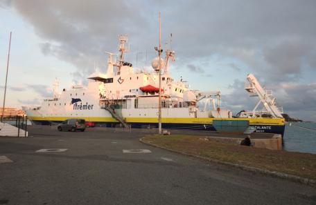 Navire Atalante de l'IFREMER, DAM SPE