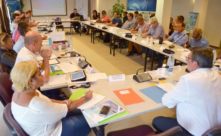 The 4th Management Committee of the Coral Sea Natural Park was held on 20 December at the Government, DAM SPE