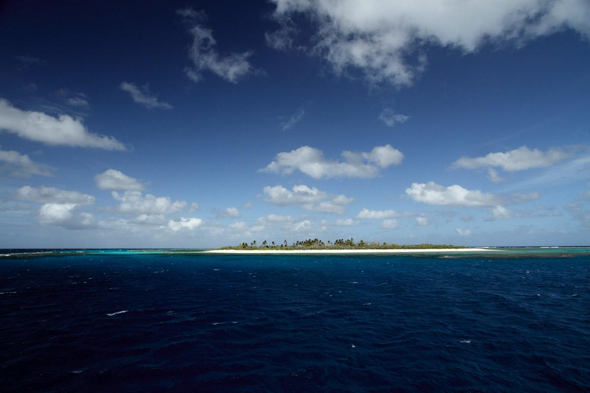 Ilot Surprise, atolls d'Entrecasteaux, David Ugolini, SCO