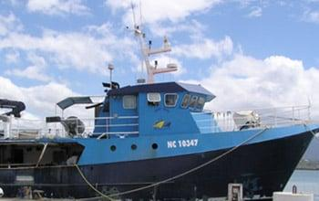 Navire de pêche Baby Blue, DAM SPE