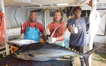 Les pêcheurs calédoniens sont les sentinelles du parc naturel de la mer de Corail, DAM SPE