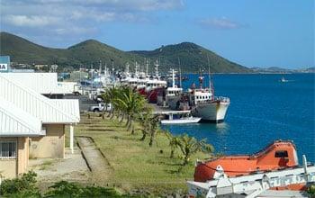 Navires de pêche à quai, DAM/SPE