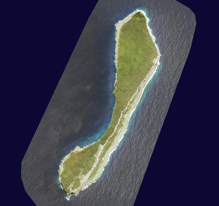 Image satellite de Walpole, DAM SPE