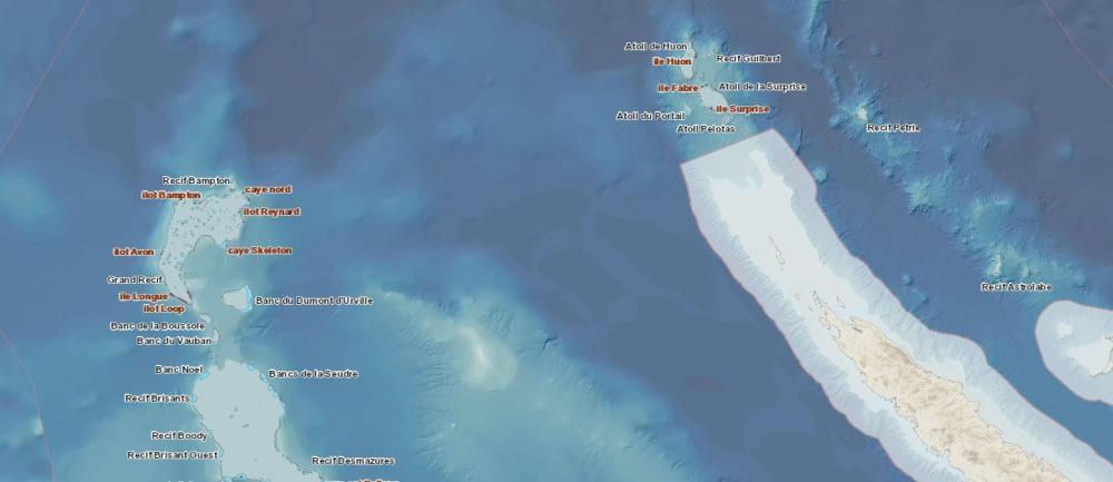 Parc naturel de la mer de Corail : Banc de Lansdowne