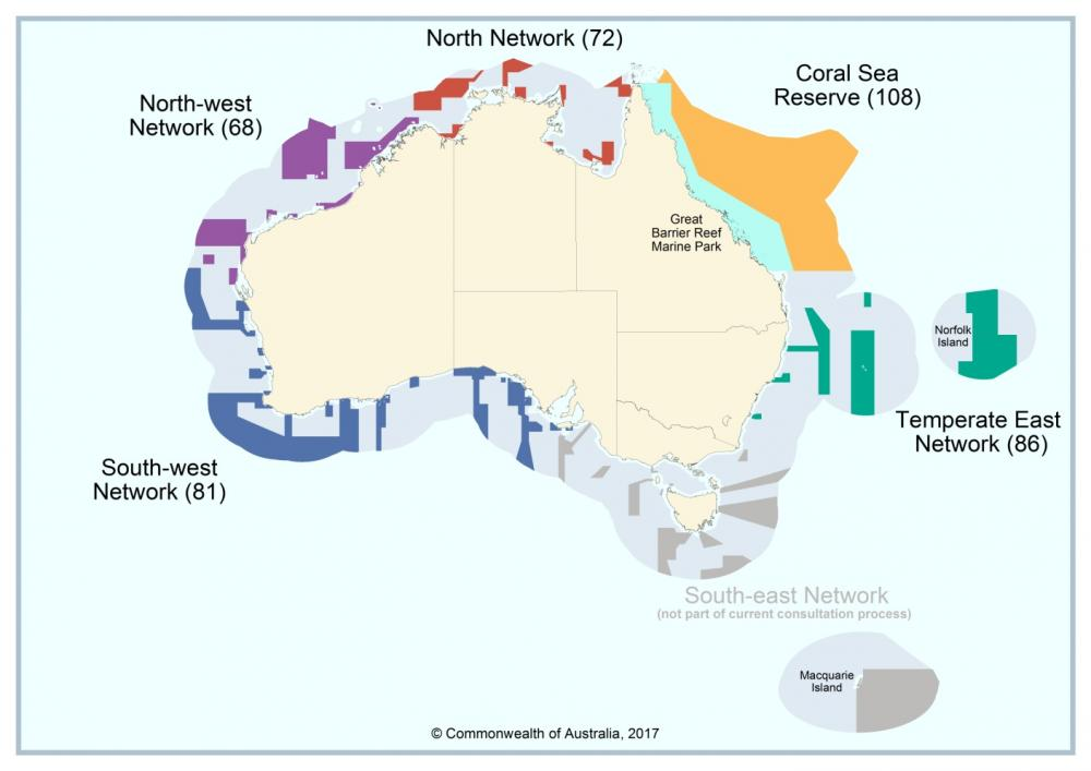 Parks Australia : Managing Australia\'s Coral Sea Marine Park ...