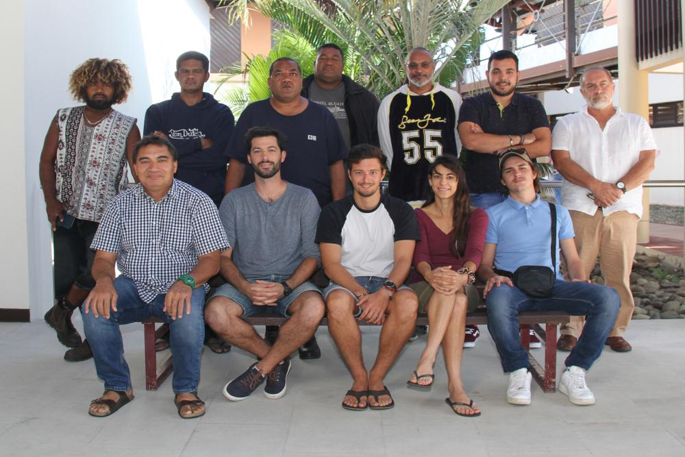 Les candidats à la formation PIRFO organisée à la CPS en août 2020 par le programme Observateurs des pêches en Nouvelle-Calédonie (c) CPS